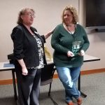 Ottawa County Department of Job and Family Services and the Ohio Coalition of Adult Protective Services (OCAPS) was proud to recognize Julie McKitrick as Ohio's 2020 Adult Protective Services Worker of the Year.  This award would have been part of the OCAPS statewide conference, which was rescheduled during to the current health crisis.  Through the flexibility of everyone involved, Julie received this award and a $1000 training scholarship this morning at a small agency gathering.
